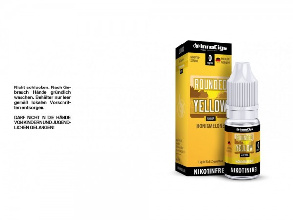 Innocigs Rounded Yellow Liquid 0mg